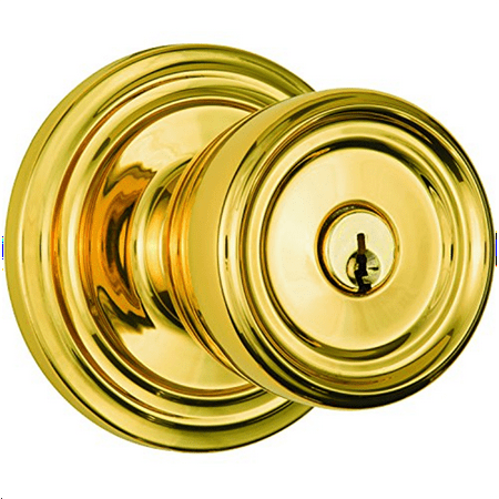 Push Button Door Knob - Brinks Home Security Push Pull Rotate Door Locks 23005-105 Barrett Entry Knob