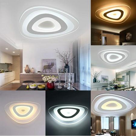 Moaere 3-Color Adjustable LED Ceiling Lights Modern Mango Fixture Ultraslim Pendant Lamp for Kitchen Hallway Bathroom Adjustable Height Light Fixture