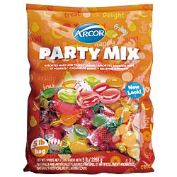 Arcor Assorted Candies, Hard Candy, 5-Lb Bag - Arcor Candy