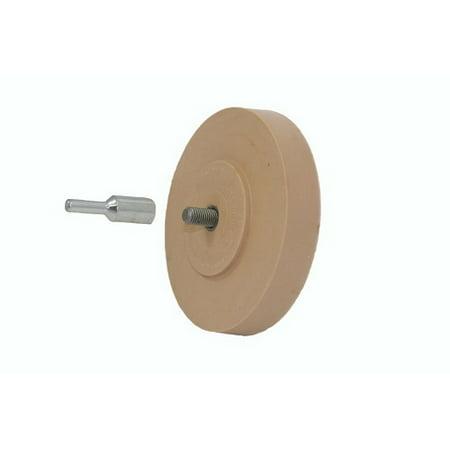 Astro Rubber Pinstripe Removal Pad/ Wheel Eraser w/ Arbor (1 Pad + (Pinstripe Removal)