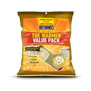 Hot Hands Toe Warmers 6 Count Value Pack