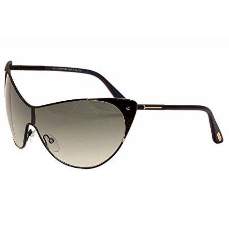 Tom Ford Womens Ft0364 01B Vanda Sunglasses  Black