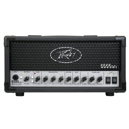 Tube Guitar Head (Peavey 6505 MH Mini Head Electric Guitar 20 Watt Tube Amplifier Amp 3 Band EQ - Factory Certified Refurbished)