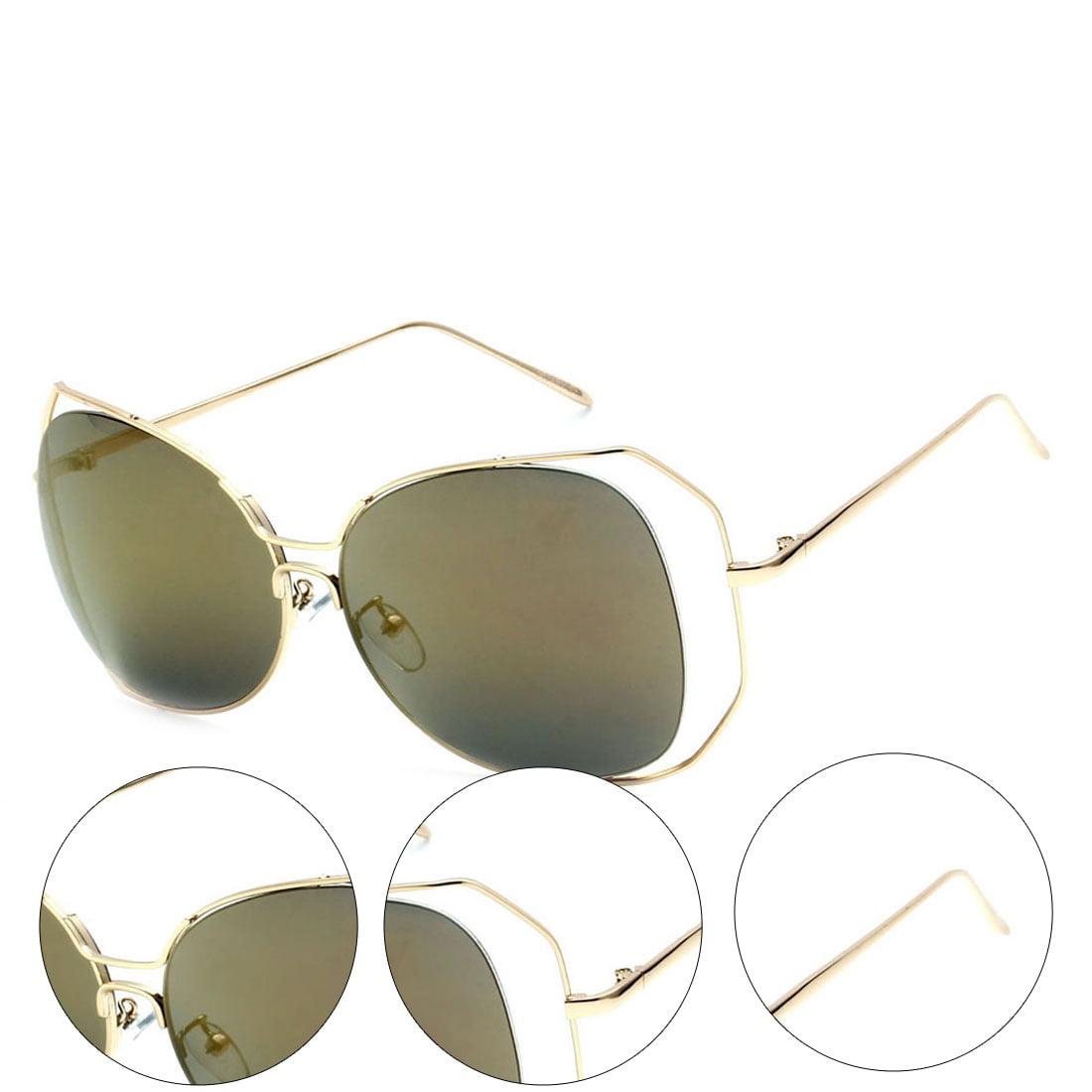 MLC Eyewear Urban Trendy Double Frame Oversized Women Sunglasses