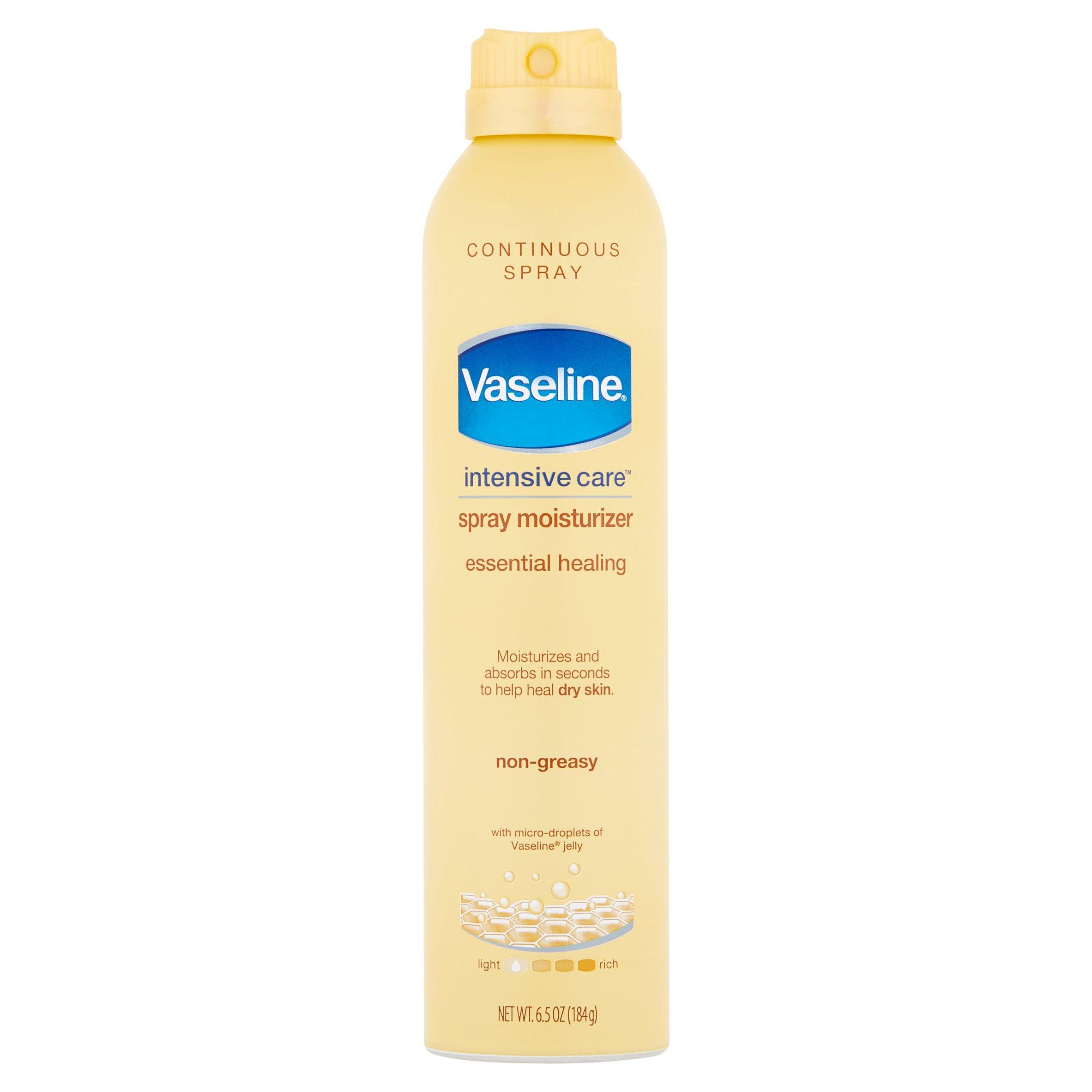 Vaseline Intensive Care Essential Healing Non-Greasy Spray Moisturizer, 6.5 oz