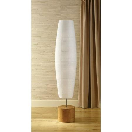 Mainstays Bamboo Floor Lamp, Natural - Mainstays Bamboo Floor Lamp, Natural - Walmart.com