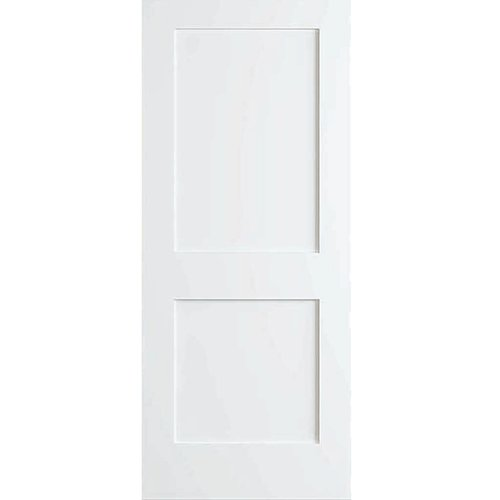 Kimberly Bay Shaker 2 Panel Wood Slab Interior Door