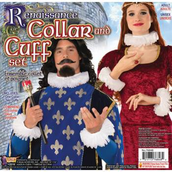 VICTORIAN COLLAR AND CUFF SET - Victorian Costume Accessories