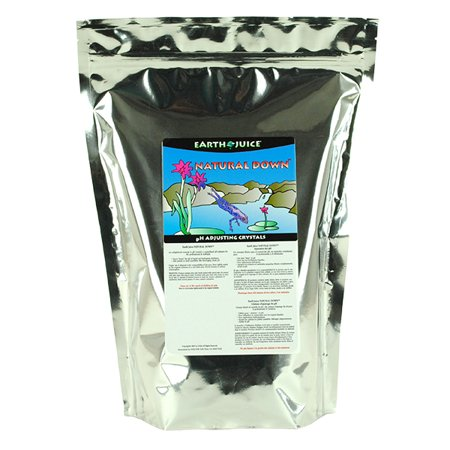 Earth Juice Natural Down PH Adjusting Crystals Plant Food 7.8 lb. (The First Habitat For Plants On Earth Was)