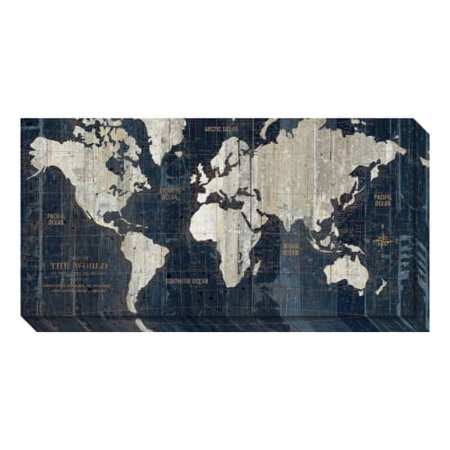 Amanti art canvas gallery wrap old world map blue by wild apple amanti art canvas gallery wrap old world map blue by wild apple portfolio gumiabroncs Choice Image