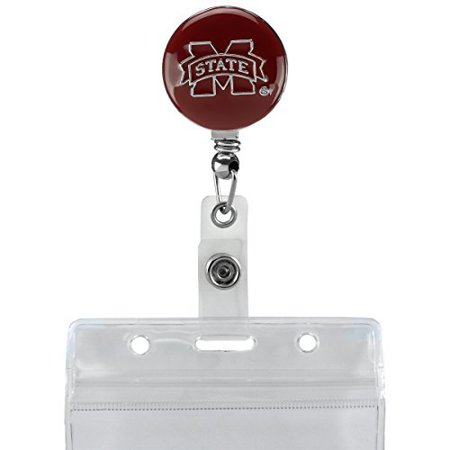 Mississippi State Retractable Badge Reel
