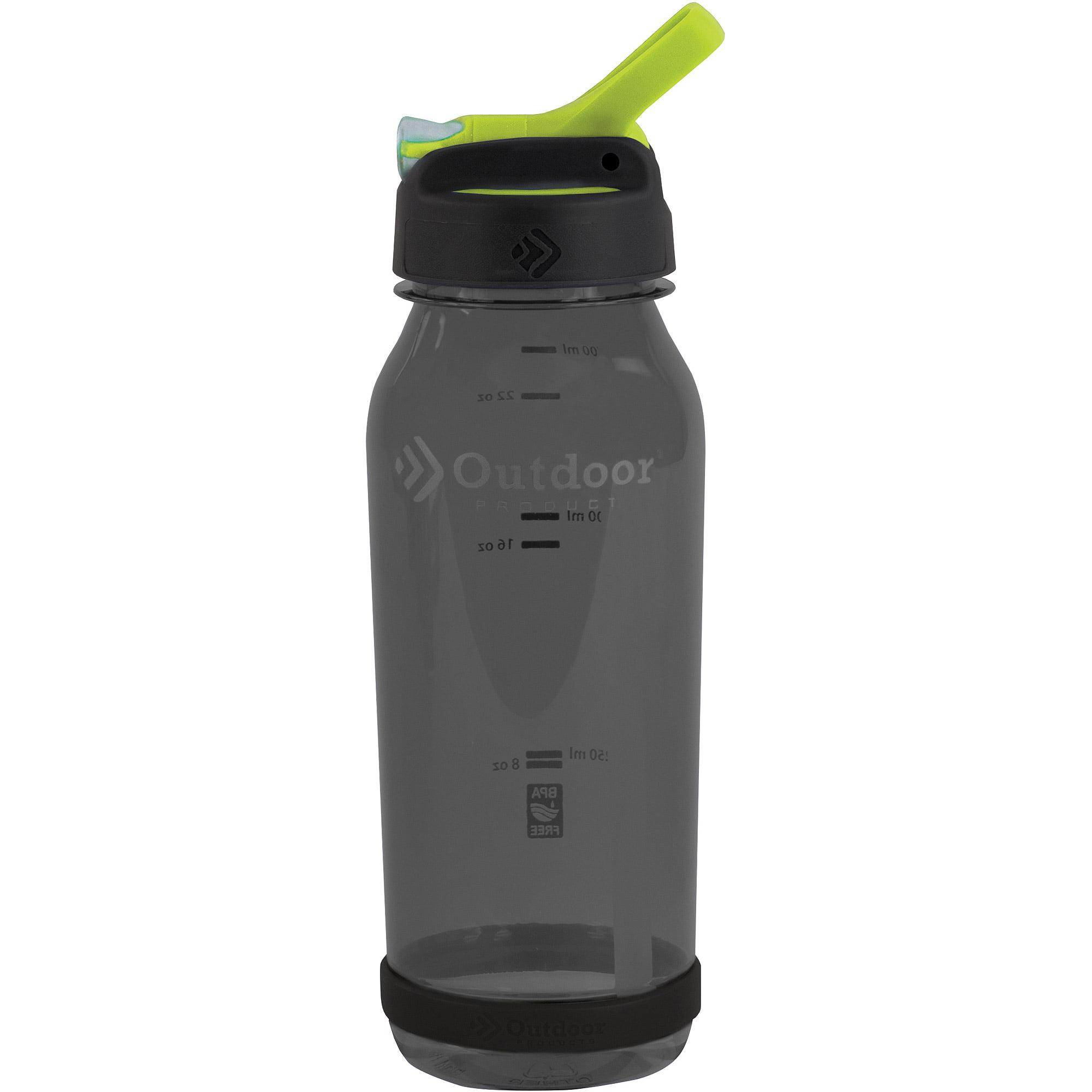 Outdoor Products 0 75 Liter Tritan Flip Top Water Bottle Smoke