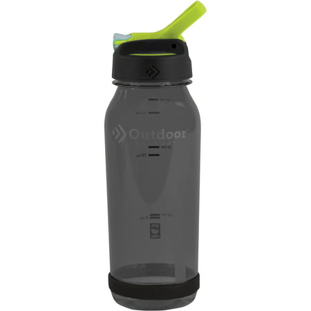 Outdoor Products 0.75-Liter Tritan Flip Top Water Bottle, Smoke (Smoke Weed Backpack)