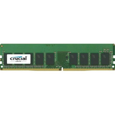 Crucial 16GB DDR4 2666MHz SDRAM ECC 288-Pin Memory Module CT16G4WFD8266