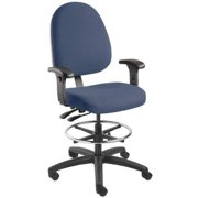 "BEVCO Task Chair 25"" to 35""H, Navy, 6501-4550/5-A5 navy fabric"