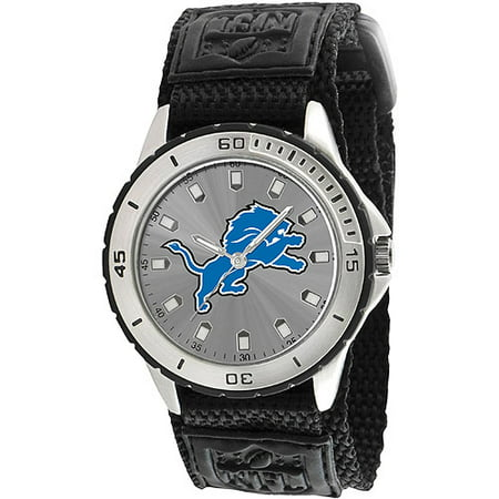 Game Time NFL Men's Detroit Lions Veteran Series Watch