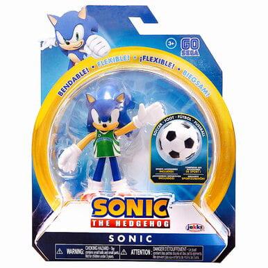 4u0022 Sonic w/ Soccer Ball