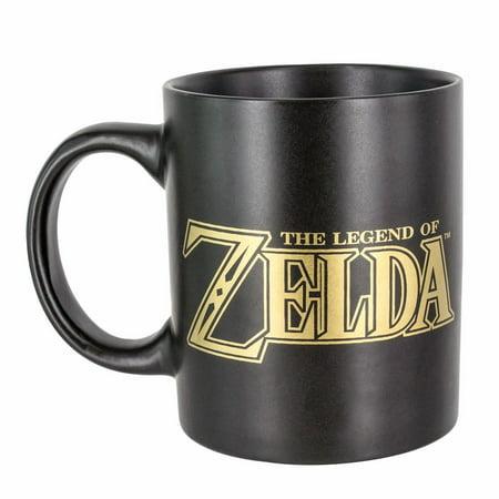 Nintendo The Legend of Zelda Link Hyrule Symbol Coffee Mug (Links Coffee Set)