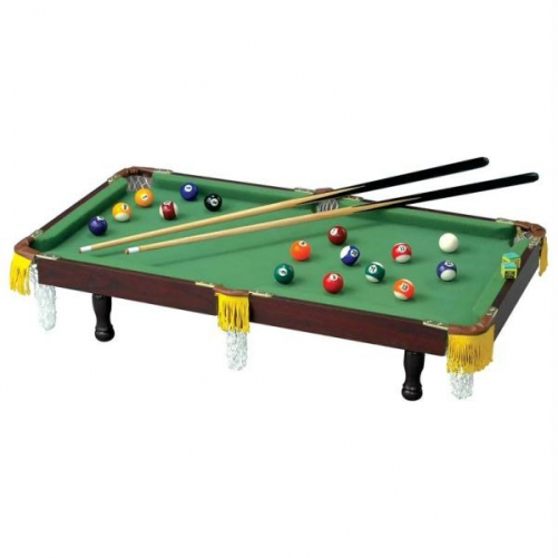 Club Fun Tabletop Miniature Pool Table by Supplier Generic