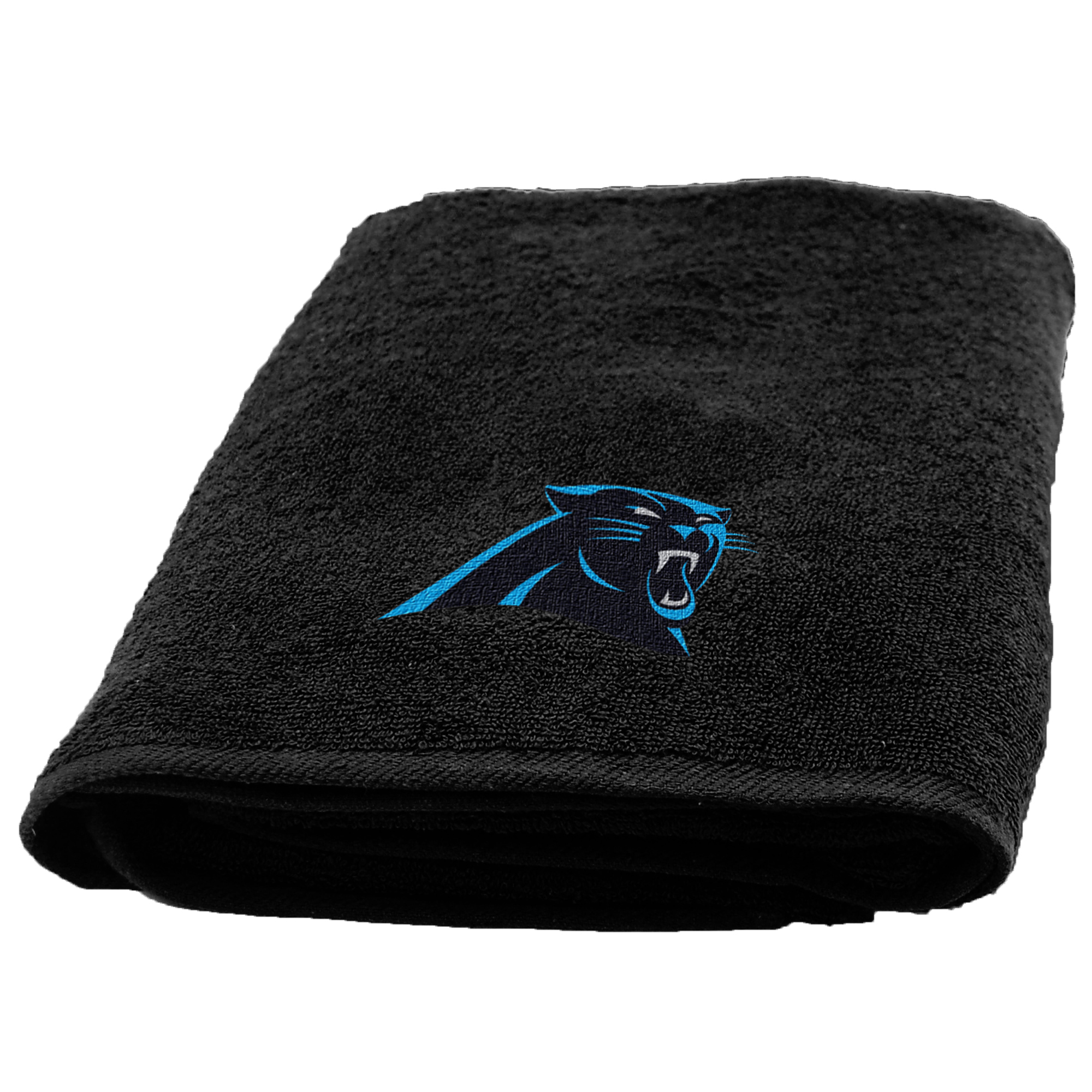 Carolina Panthers The Northwest Company 25'' x 50'' Applique Bath Towel - No Size