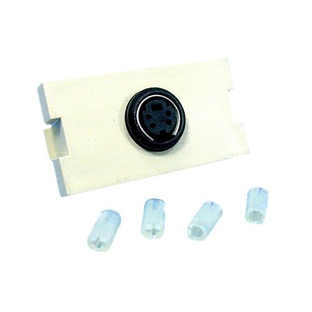 Leviton 41291-1VI S-Video Module MOS Insert 1 Unit High Ivory