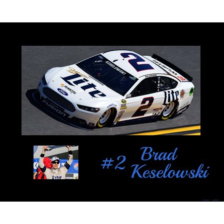 Frames By Mail Nascar Brad Keselowski Memorabilia On Wrapped Canvas