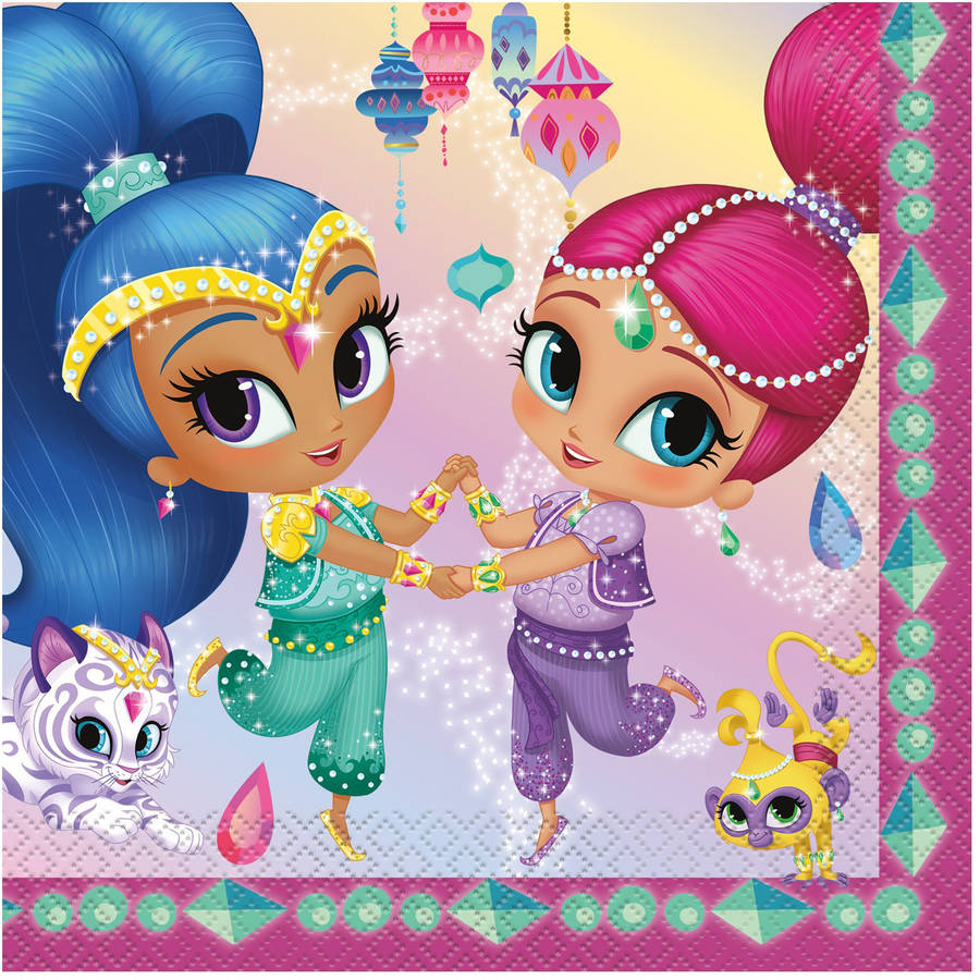 Shimmer And Shine Theme
