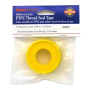 William H Harvey 416872 0.5 x 260 in. Master Plumber Gas Line Pipe Thread Seal, Yellow