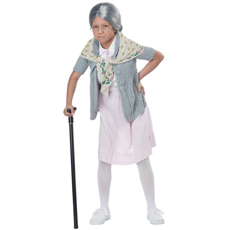 Grandma Bubushka Child Costume Kit