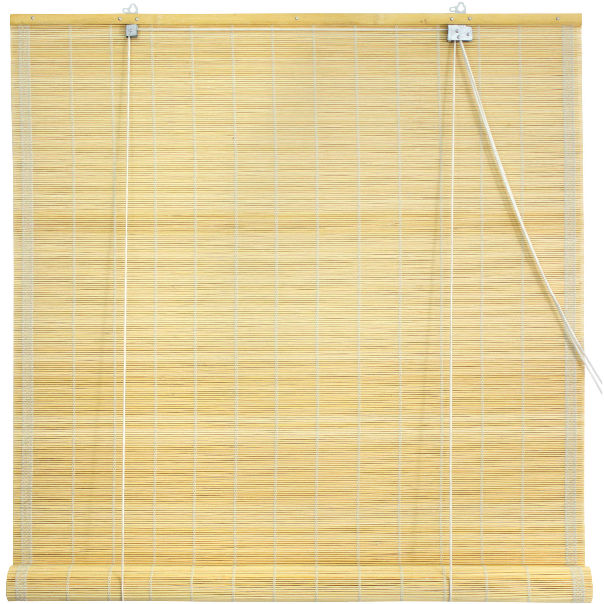 Matchstick Roll Up Blinds, Natural