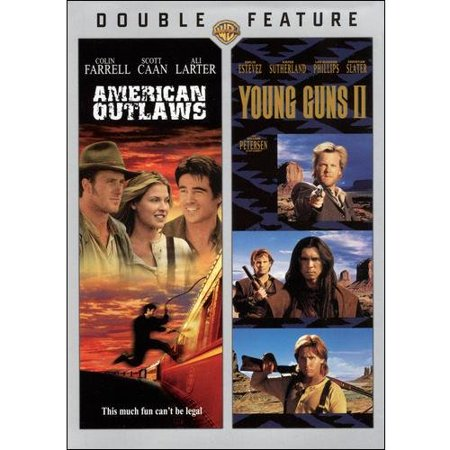 American outlaws young guns 2 dvd for American cuisine dvd