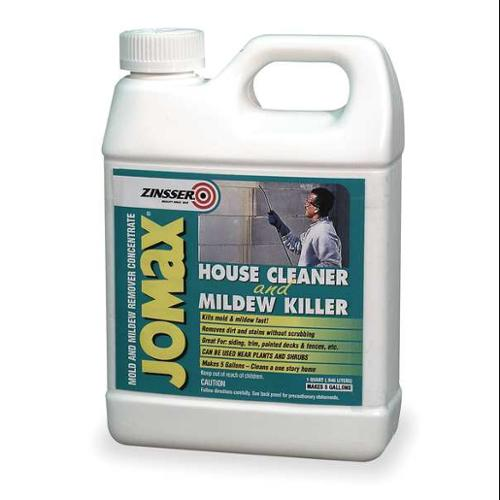 ZINSSER 60104 House Cleaner & Mildew Killer, 1 Qt