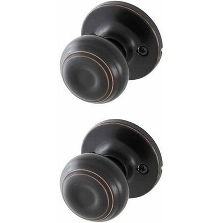 Honeywell Classic Passage Door Knob, Oil Rubbed Bronze - Honeywell Classic Passage Door Knob, Oil Rubbed Bronze - Walmart.com