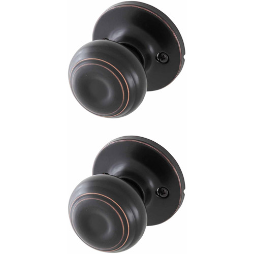 Honeywell Classic Passage Door Knob, Oil Rubbed Bronze