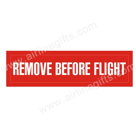 Remove Before Flight Patch (Iron On Applique) APP022