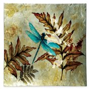 Angelstar Dragonfly Spirit Square Plate (Set of 3)