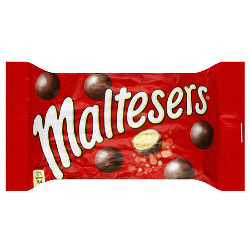 Mars Candy Maltesers, 1.3 oz (Pack of 25)