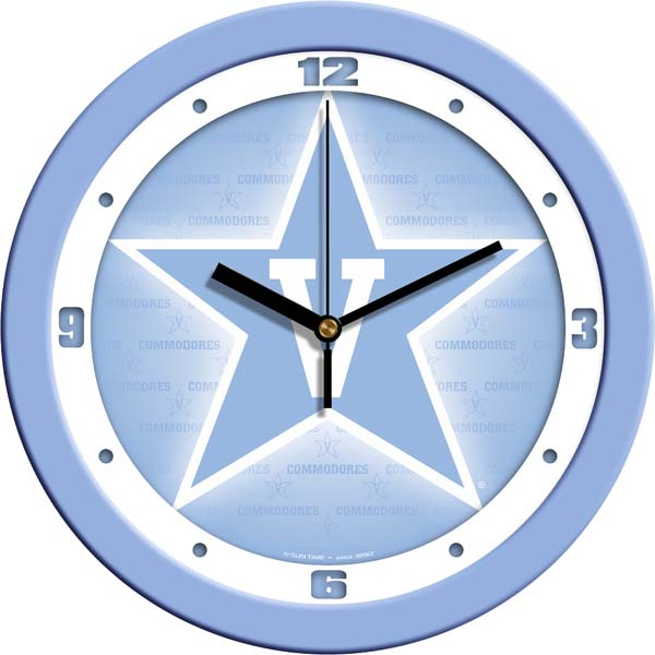 Vanderbilt Baby Blue Wall Clock