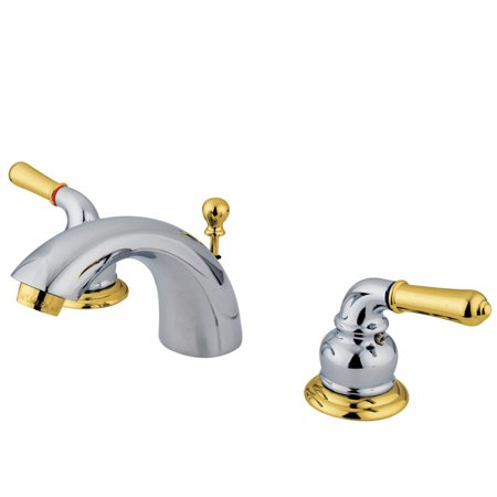Kingston Brass KS295 Naples Mini Widespread Bathroom Faucet