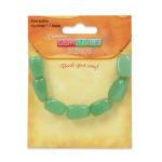 Expo Green Aventurine Nugget Beads Pack of 7