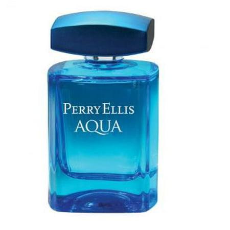 Perry Ellis Aqua Eau de Toilette Spray, 3.4 Fl (Aqua Eau De Toilette Spray)