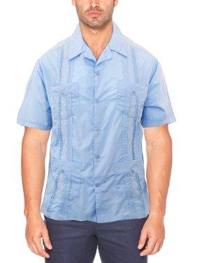 db25b8eb0fb Product Image Guayabera Shirts Men s Short Sleeve Cuban Shirt Guayaberas  Camisas para Hombre