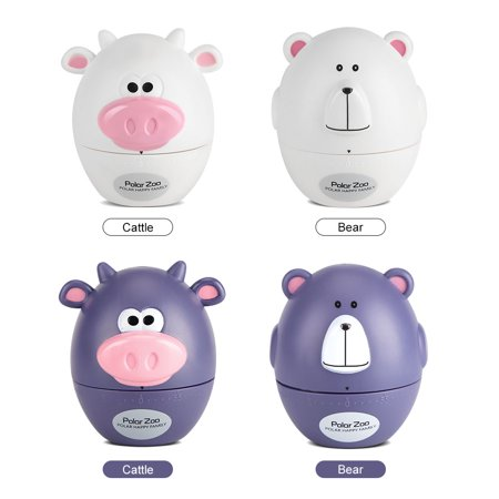 Mechanical Cute Animal Shapes Kitchen Timer Mechanical 55 Minutes Cooking Supplies Cartoon Timer for Kid NO Battery Needed