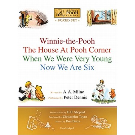Winnie-The-Pooh Boxed Set : Winnie-The-Pooh; The House at Pooh Corner; When We Were Very Young; Now We Are