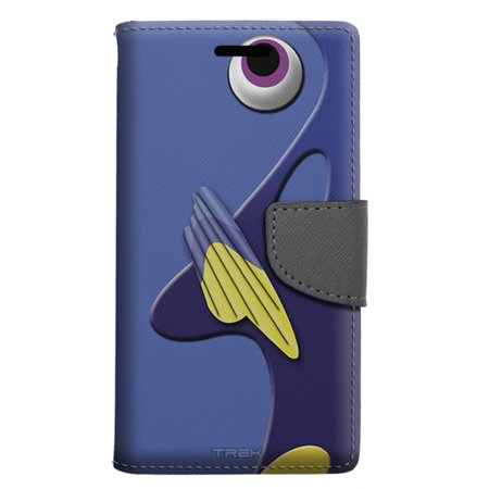 info for 18be4 84aa7 LG X power Wallet Case - Regal Blue Tang Fish Case