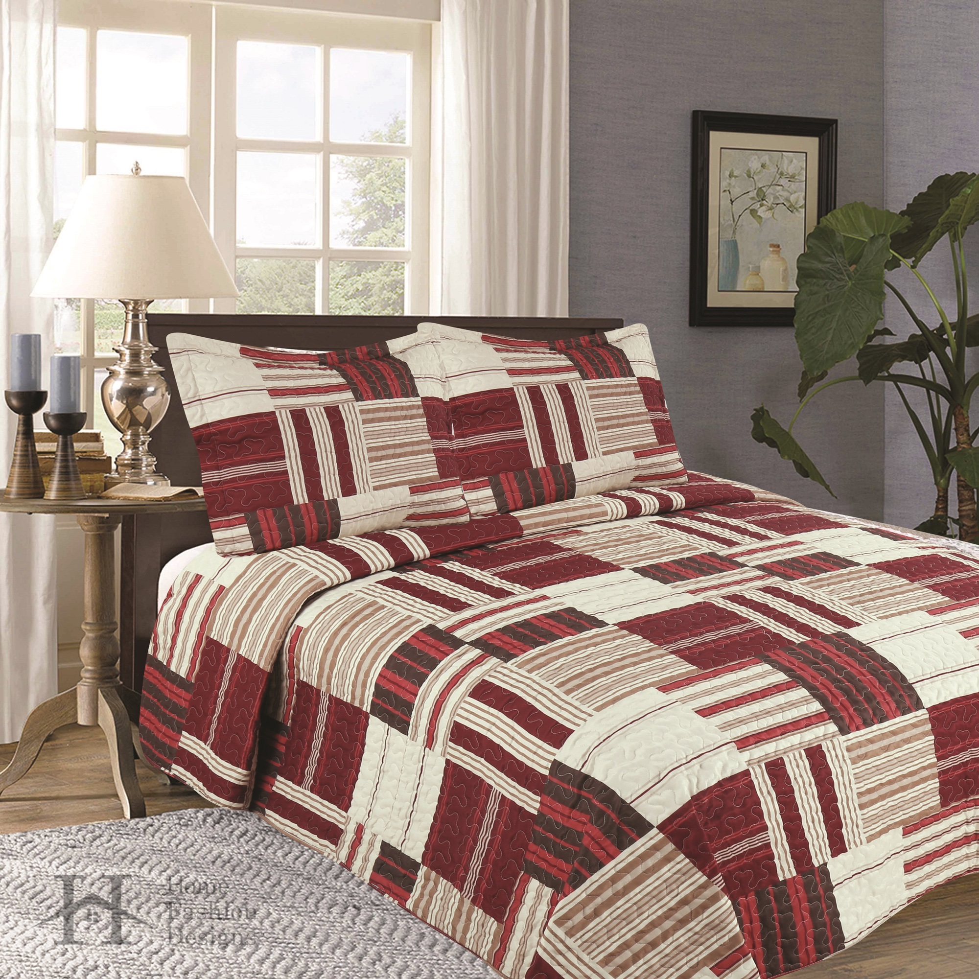 Home Fashion Design Nolan Quilt Set