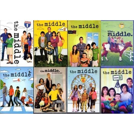 The Middle Complete Series Seasons 1-8 (24 Disc DVD Set)