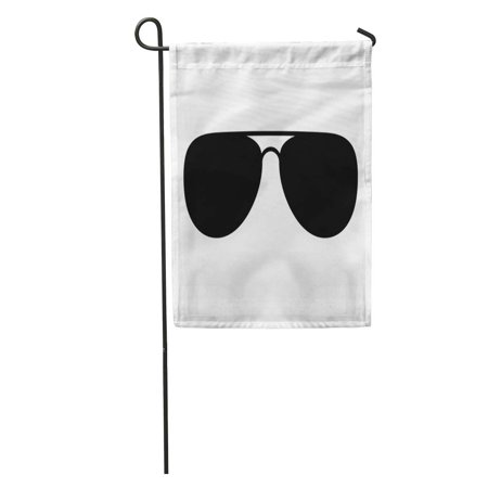 LADDKE Glasses Aviator Sunglasses Shades Protective Eyewear Flat for Apps and Websites Black Garden Flag Decorative Flag House Banner 12x18 (Cheap Glasses Websites)