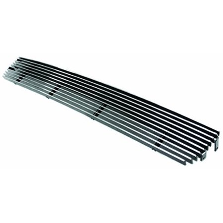 - IPCW Cwob-02xtab Polished Aluminum Bolt-On Billet Bumper Grille - 1 Piece