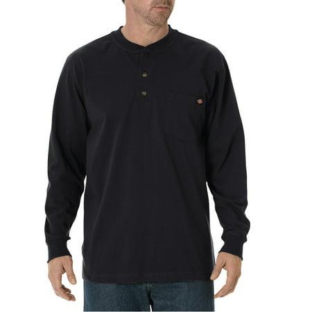 Carhartt Workwear Henley Shirt (Big and Tall Men's Long Sleeve Heavyweight Henley )